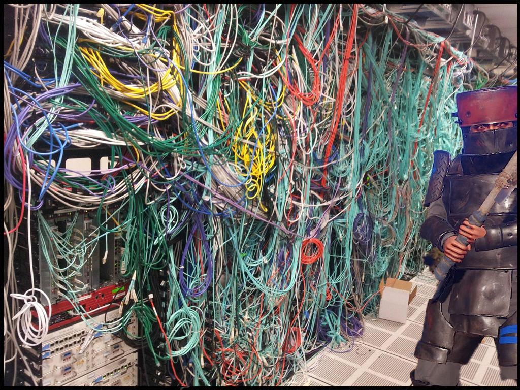 Messy Server Room