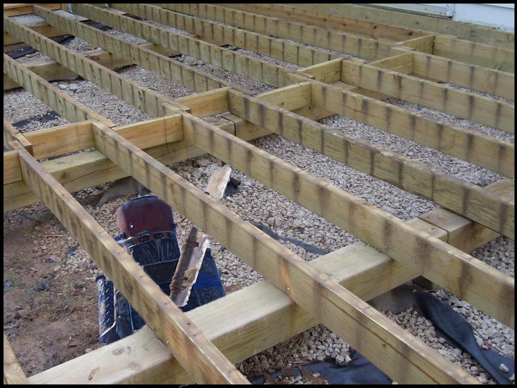 Deck Wood Foundation