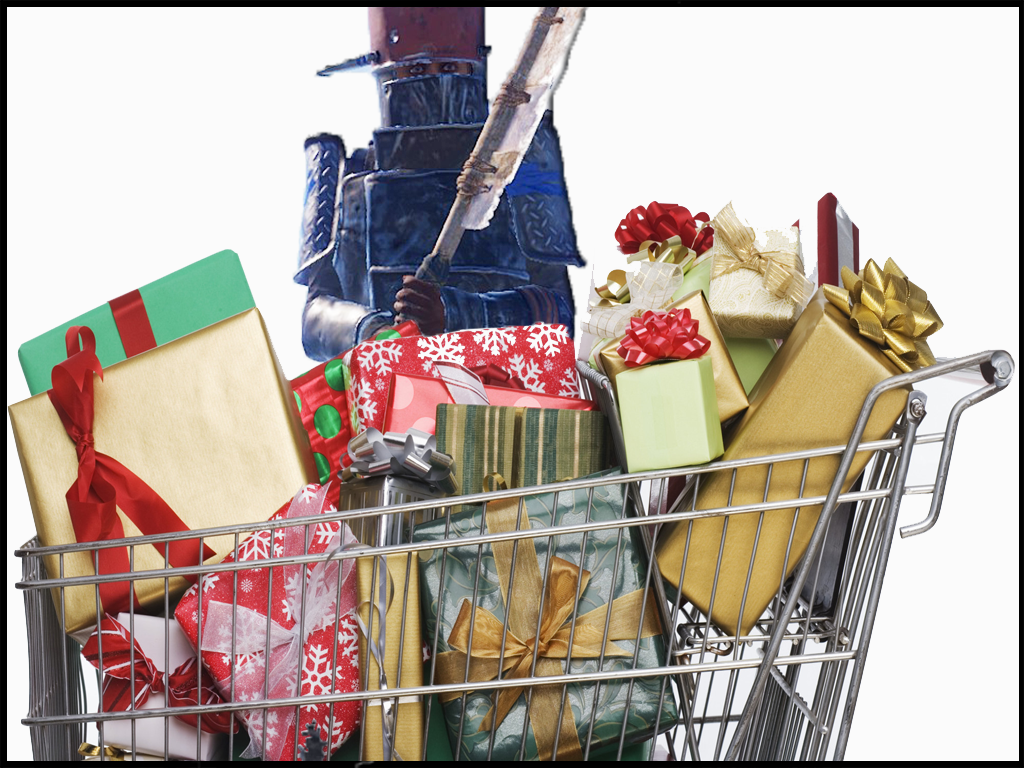 Presents in Shopping Cart