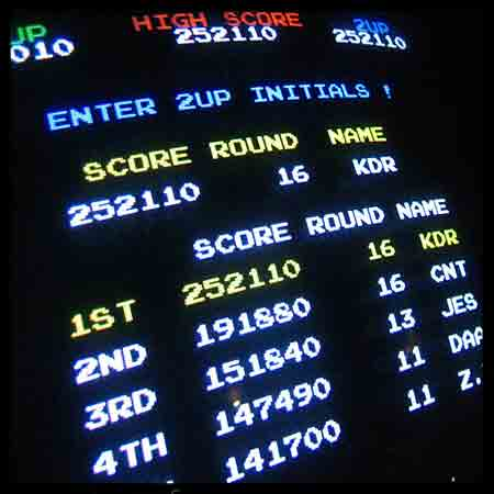 Video Game High Scores