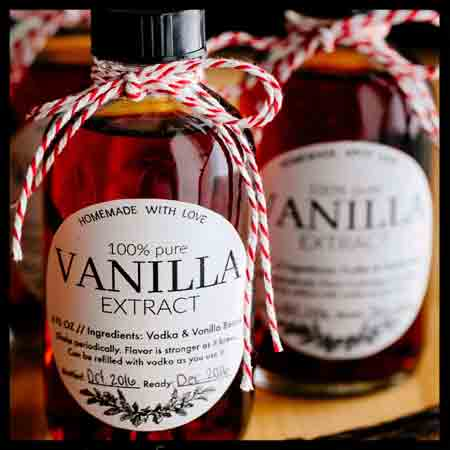 Vanilla Extract Bottles