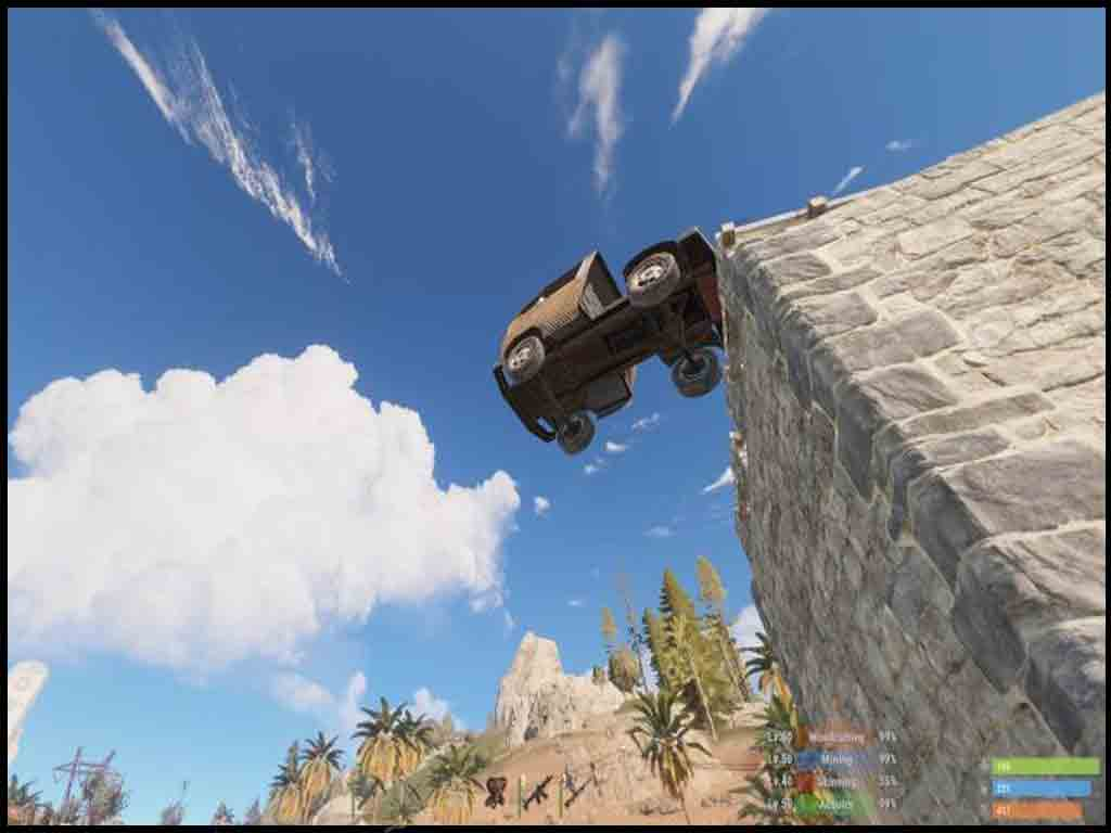 Menace Car Jump