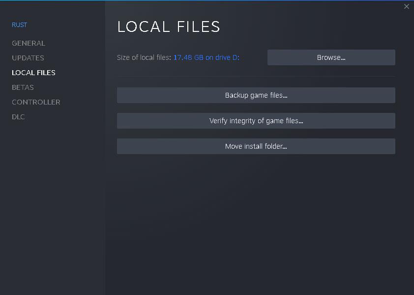 Steam Verify Game Cache