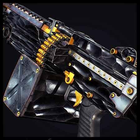 M249 Night Shade