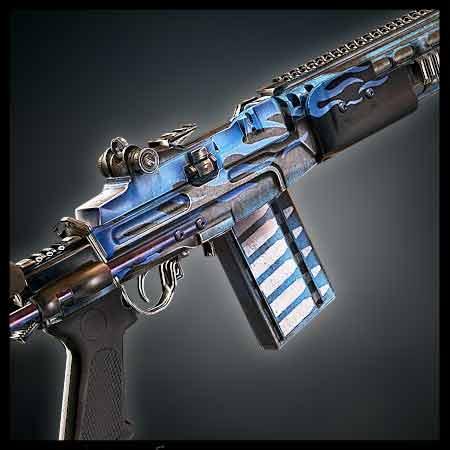 M39 Blue Flame